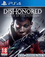 Bethesda Softworks dishonored: death of the outsider ps4 110155