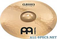 Meinl 16 Medium Crash Classics Custom Crash
